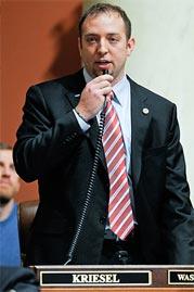 Speaker John Kriesel