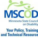 Minnesota State Council on Disability logo. With tagline: Your Policy, Training and Technical Resource.