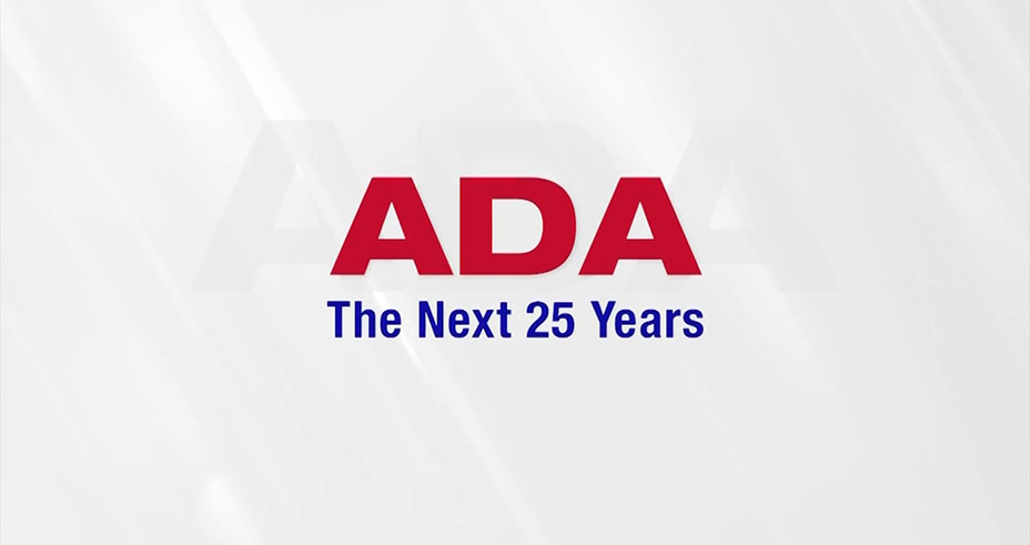 Screen grab from ADA: The Next 25 Years