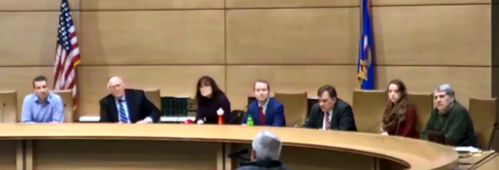 Screen grab of the 2018 Legislative Forum