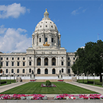 Gardens on the Minnesota Capitol grounds