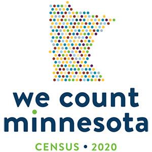We Count Minnesota: Census 2020 logo