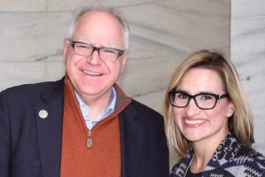 Governor Walz and Lt. Governor Flanagan