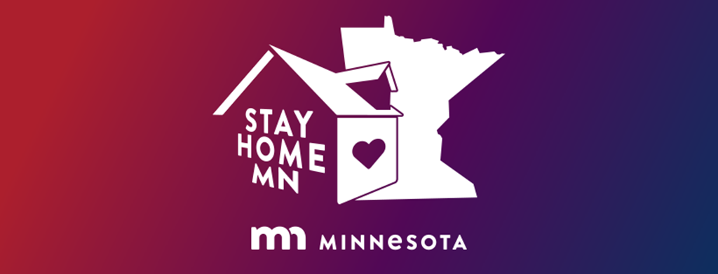 Stay Home MN logo
