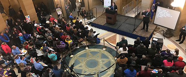 Disability event in the Capitol Rotunda