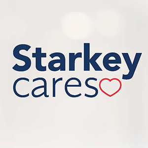 Starkey Cares logo